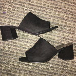 Shoes - New Block Heel Mule Sandals